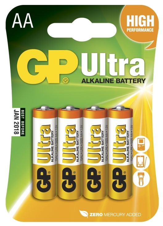 GP Batterier AA