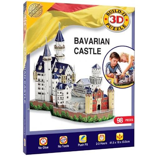 Bavarian Castle 3D Puslespill