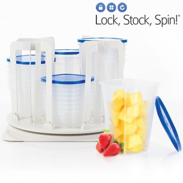 Lock Stock Spin – Plastikkbokser 49 deler