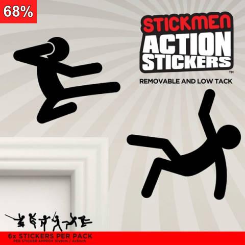 Stickman - Klistermerker