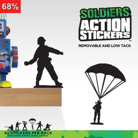 Toy Solider - Klistermerker