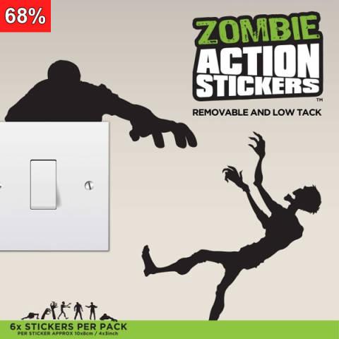 Zombie - Klistermerker