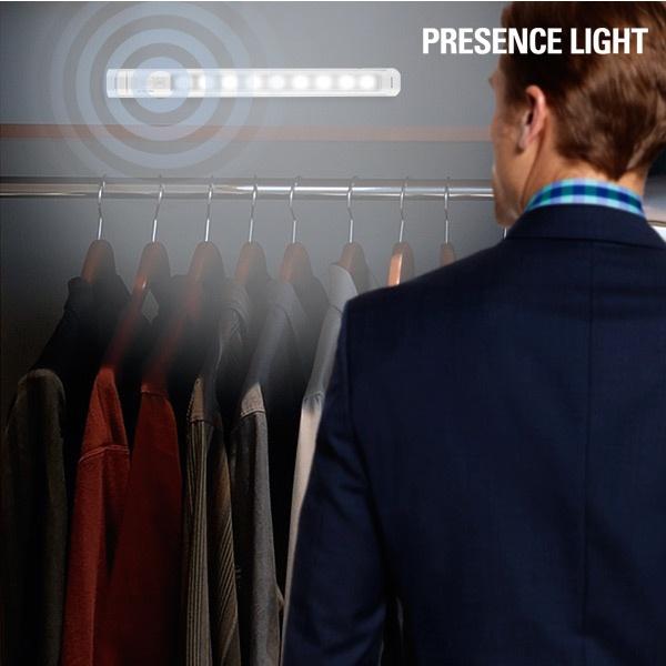 Presence LED Lampe med sensor