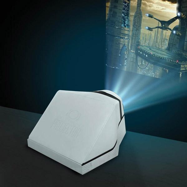 White - Smarttelefon Projektor