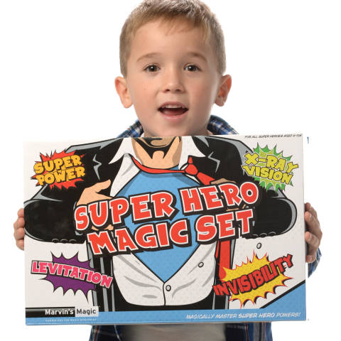Marvins Magic - Super Hero Magic Set