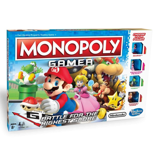 Monopoly Gamer - Norsk Utgave