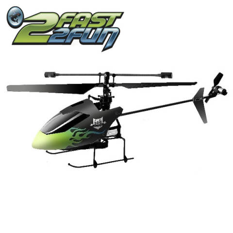 2Fast2Fun RC Helikopter 2,4 GHz RTF