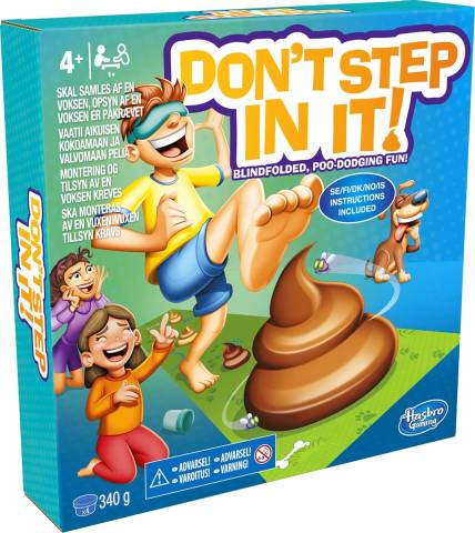 Hasbro - Don't step in it