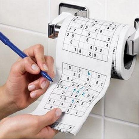 Sudoku Toalettpapir