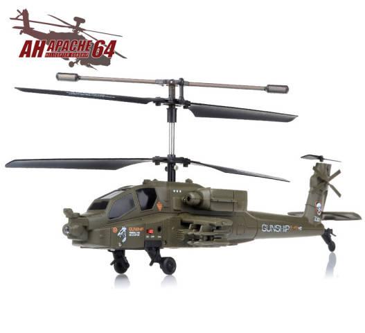 Radiostyrt Apache Helikopter