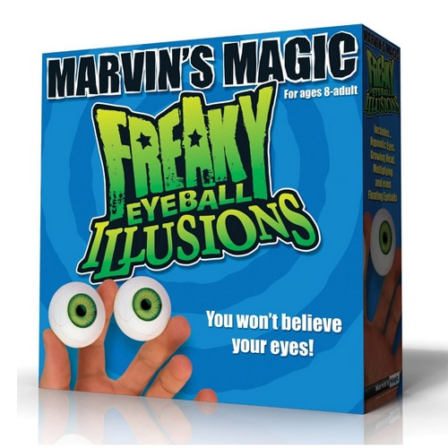 Freaky Eyeball Illusions