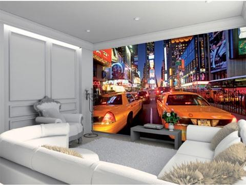 New York Times Square Veggtapet