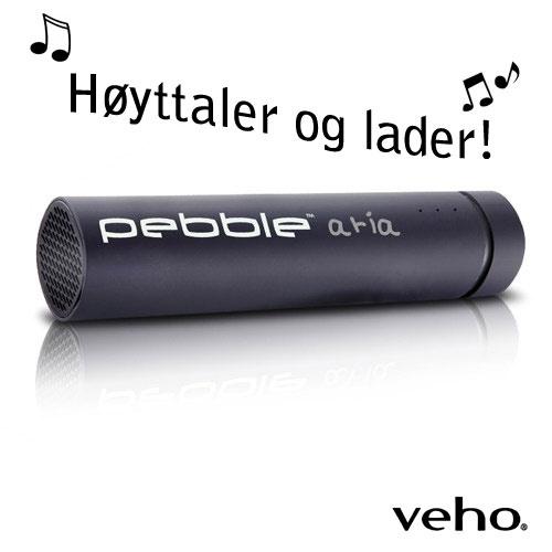 Veho Pebble™ Aria - Nødlader