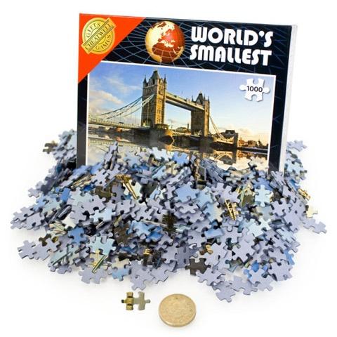 Verdens minste puslespill - Tower Bridge