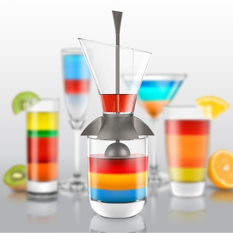 Final Touch Rainbow Cocktail