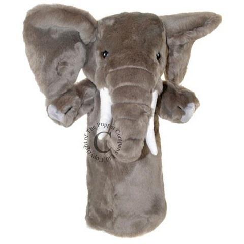 Langarmet dukke - Elefant